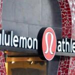 Lululemon Athletica Assumes Downward Triangle Pose